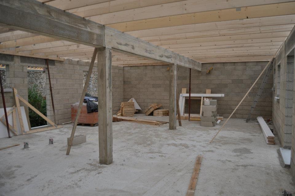 news de notre construction charpente en cours hotte acheter pour la cuisine mais choix. Black Bedroom Furniture Sets. Home Design Ideas