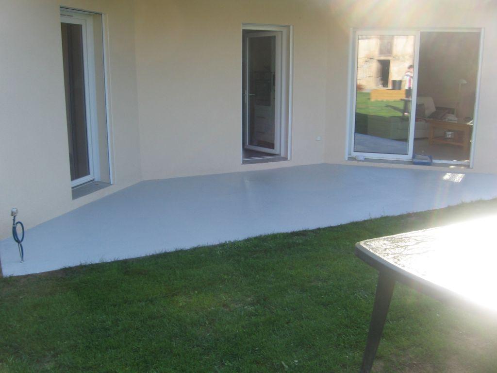 peinture terrasse et appuis de fenetres ragr age porche cadre a paillasson macon saone et. Black Bedroom Furniture Sets. Home Design Ideas