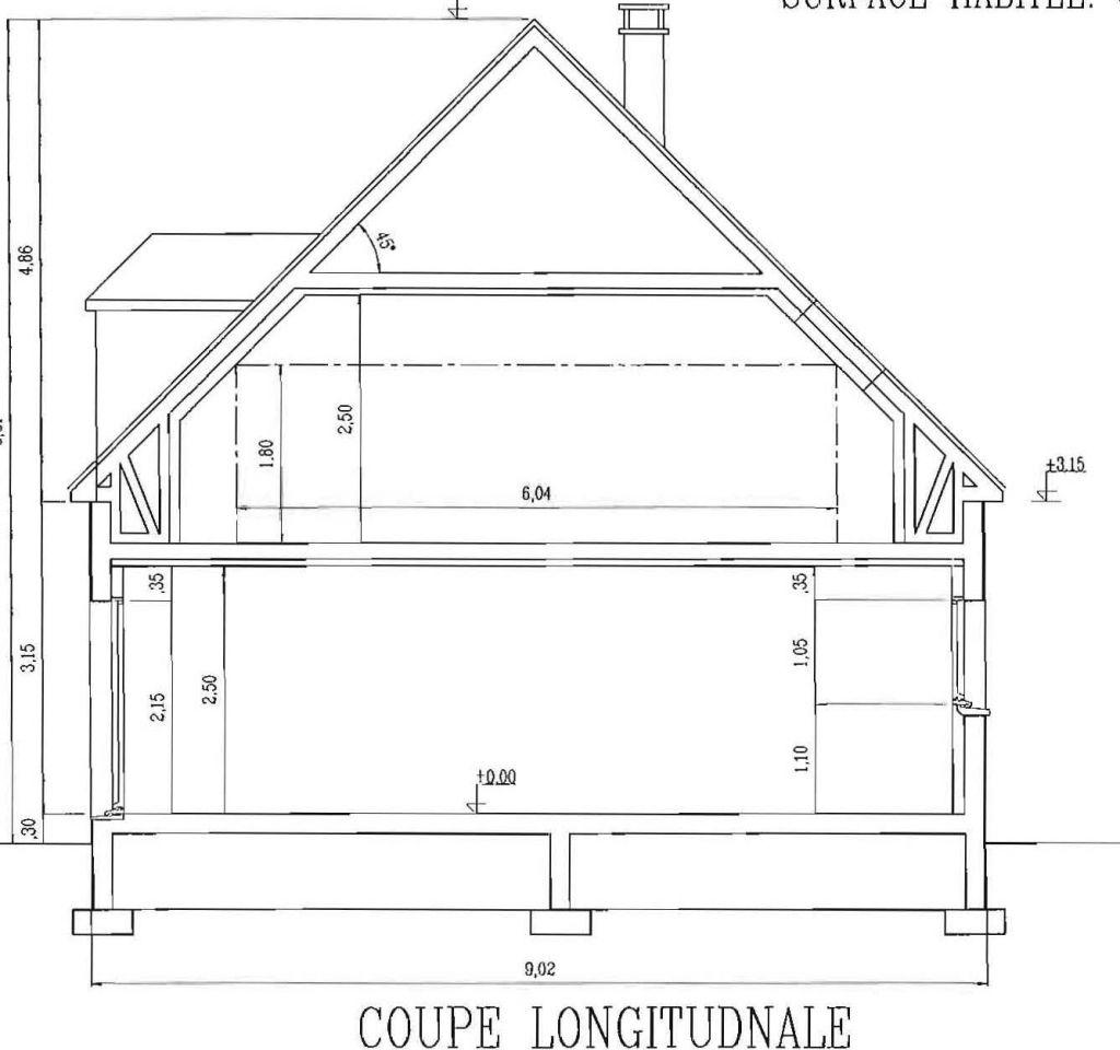 L 39 tage combles am nag es 19 septembre 2011 facades for Signature permis de construire