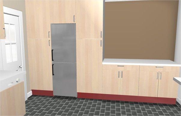 """Plan fais depuis le site ikea """"cuisine 3D"""""""