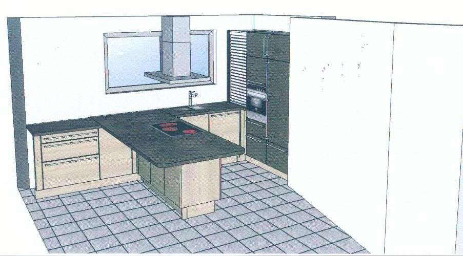 Plans 3d de la cuisine ma onnerie cloison de l for Cuisine 3d forum