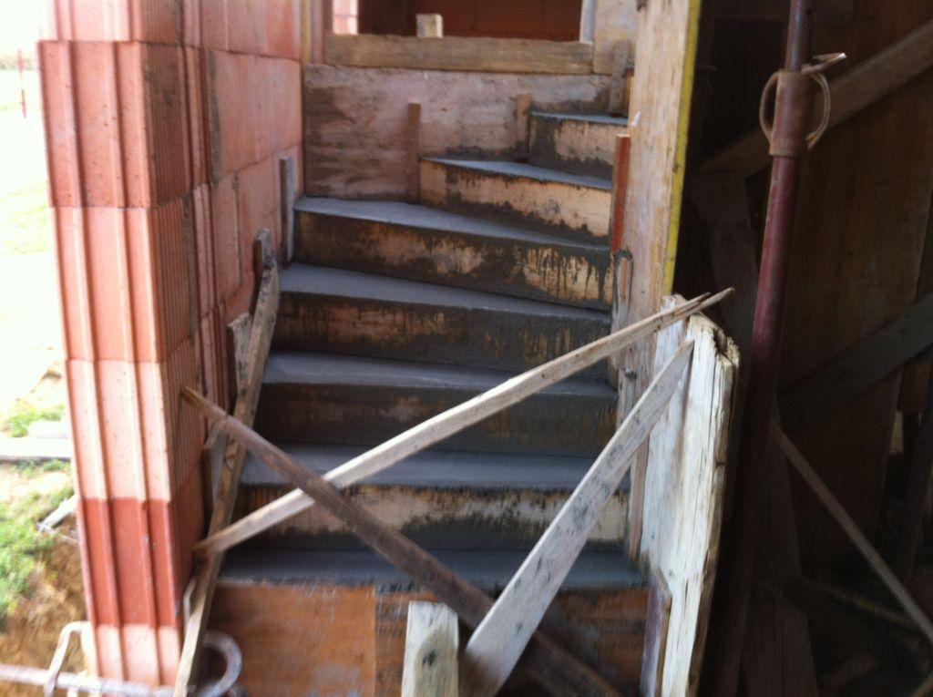escalier de l'étage
