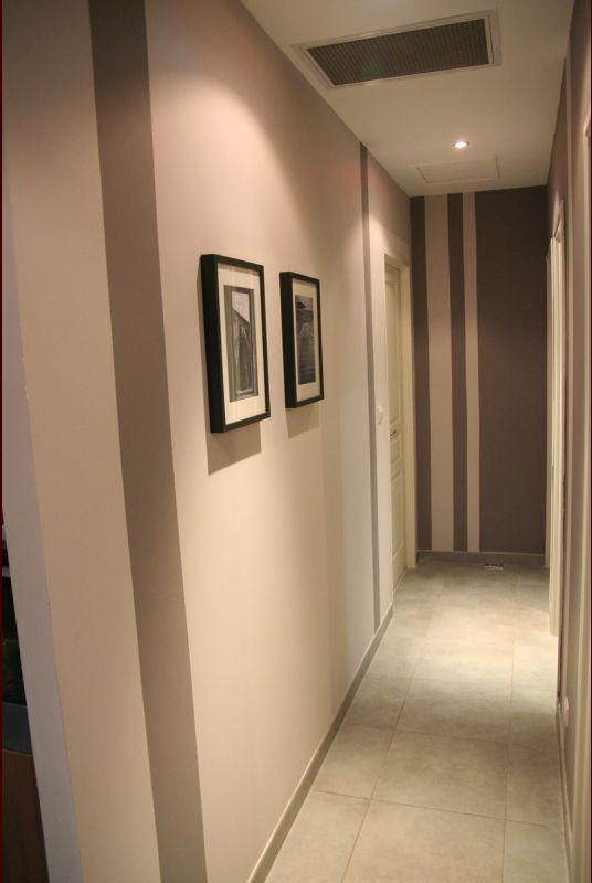 voici le couloir menant aux chambres