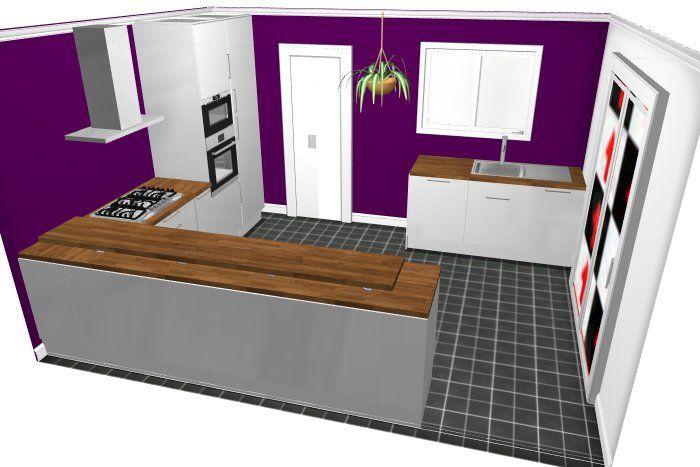 Projet cuisine ikéa 1