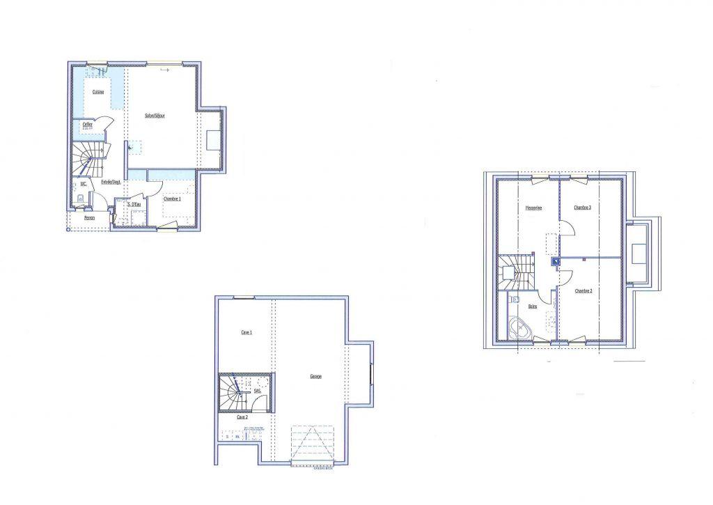 Plan sous sol EDC   étage