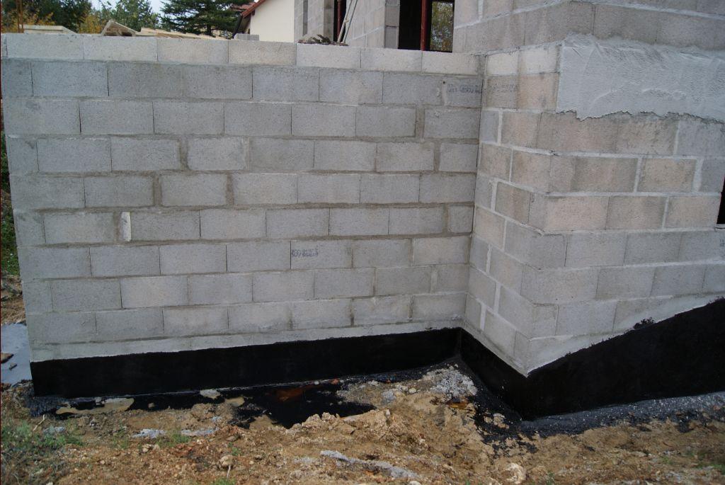 Enduit d imperm abilisation des fondations for Sika enduit piscine