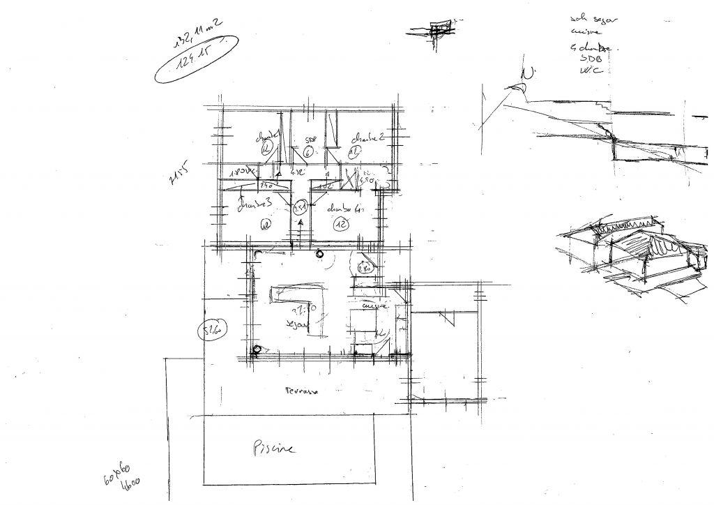 Avis sur plan de maison 110m sur terrain en pente 18 - Plan maison sur terrain en pente ...