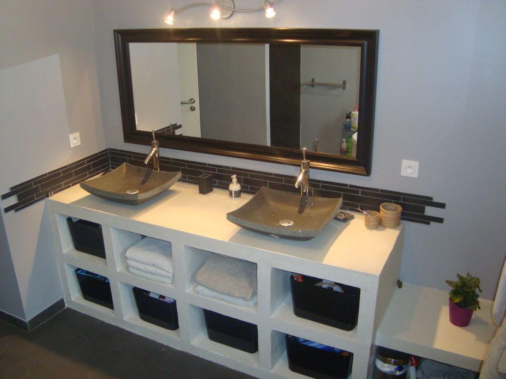 Salle de bain - salle d'eau 9.1m2 revêtement faïence - Ain (1) - novembre 2011