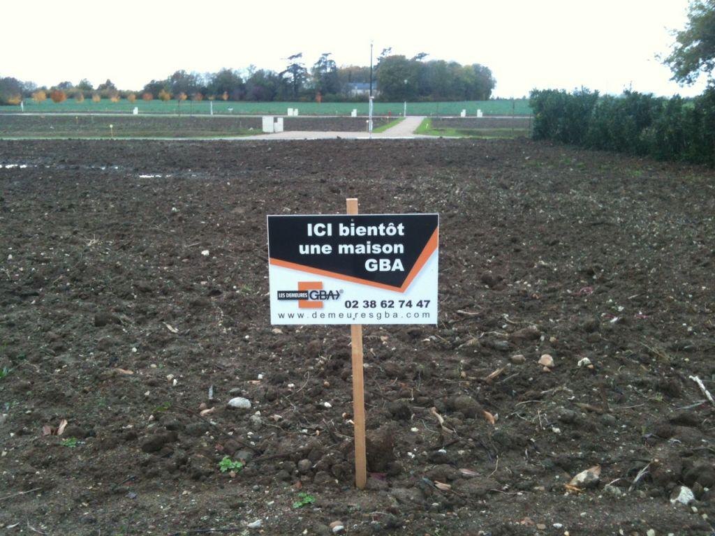 Une nouvelle pancarte sur notre terrain !!