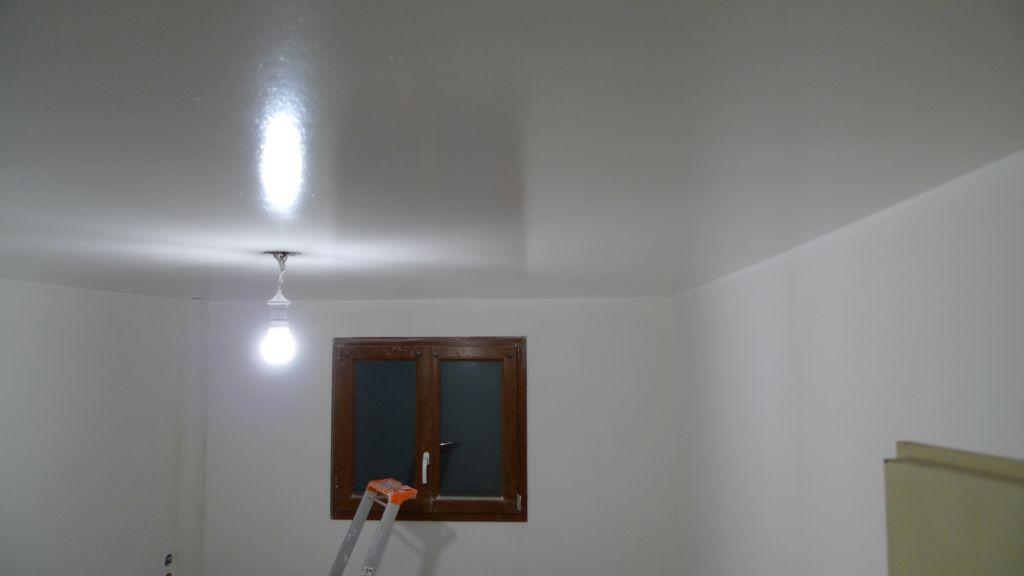 Laque glycero satin trop brillante 14 messages for Peinture blanche pour plafond