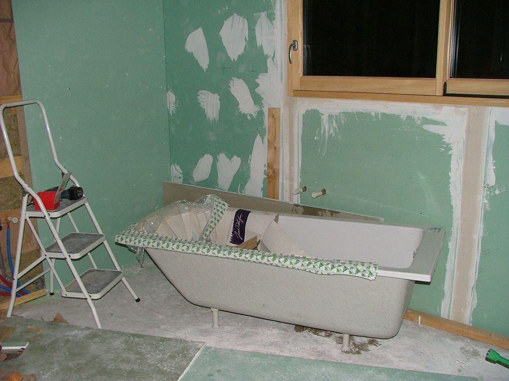 s chage de la chape pose du lambris suite oberdorf spachbach bas rhin. Black Bedroom Furniture Sets. Home Design Ideas