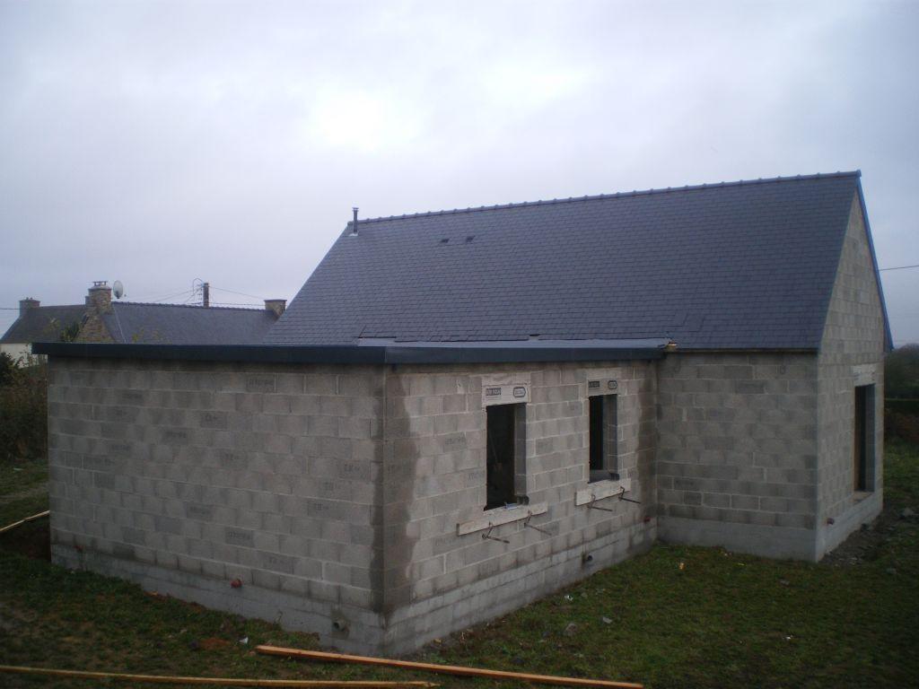 La maison vue de derrière