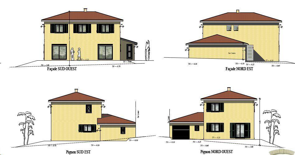 PCMI5 Plan des façades