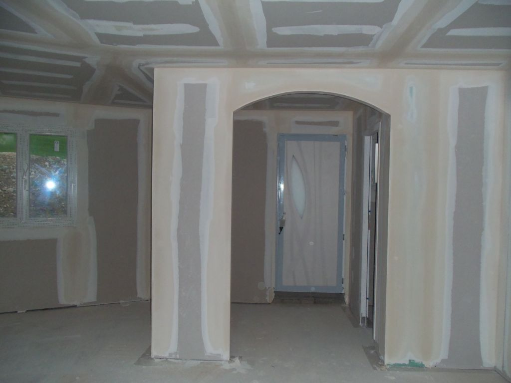 fin des placos et finition de la toiture avancement. Black Bedroom Furniture Sets. Home Design Ideas
