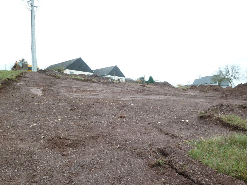 Décapage terre vegetale