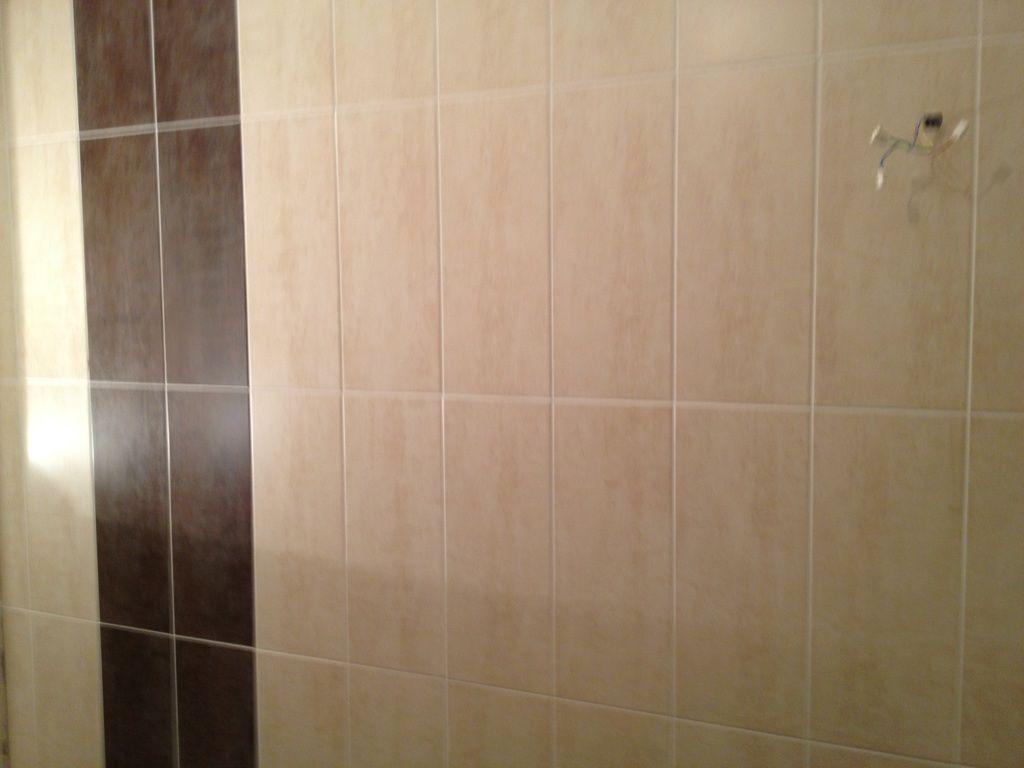 Joint faience salle de bain et carrelage salon en cours - Joint carrelage salle de bain etanche ...