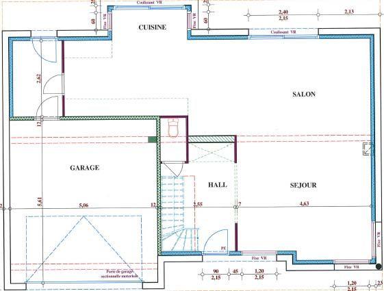 elevation des pignons jour 4 pignon ouest elevation. Black Bedroom Furniture Sets. Home Design Ideas