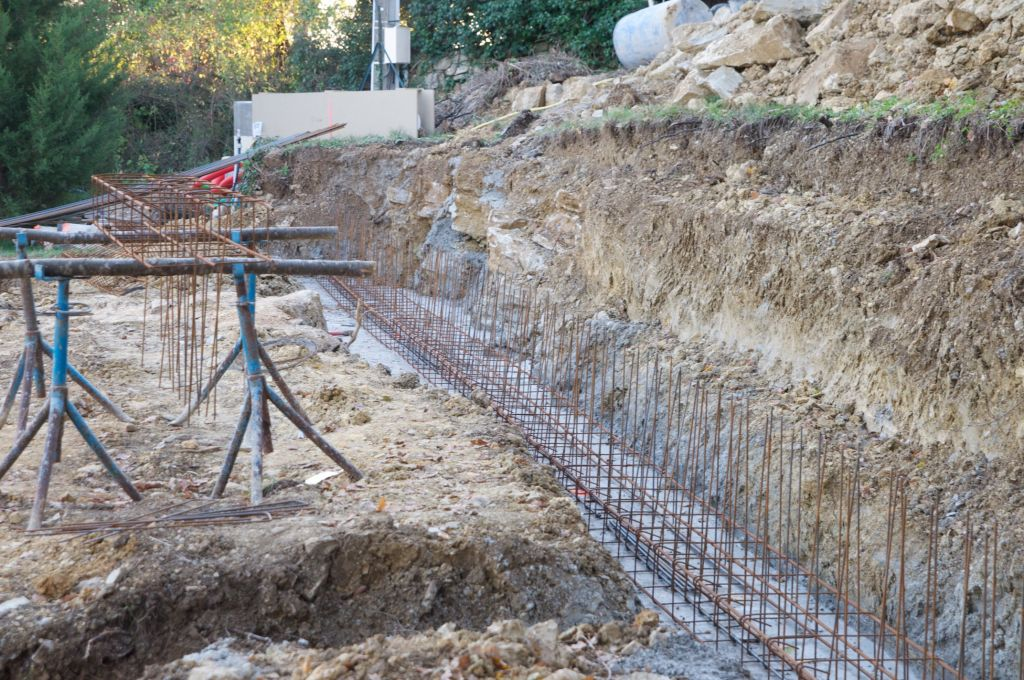 Ferraillage des fondations fondations coul es dalle - Ferraillage fondation muret ...