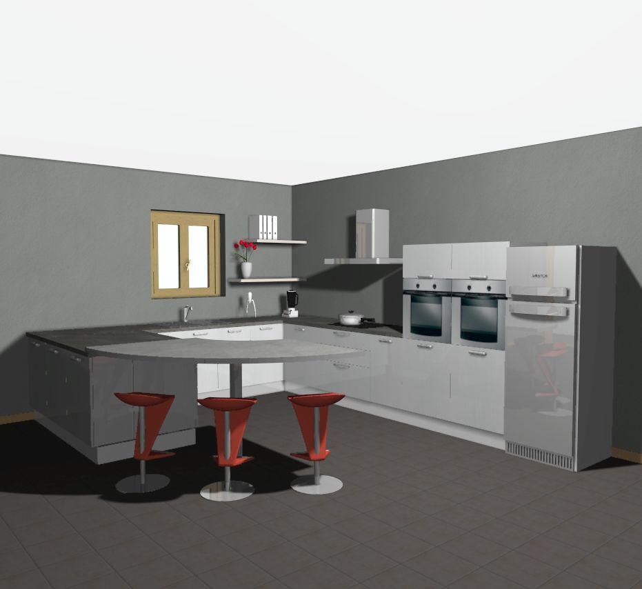 Fin des placos et finition de la toiture avancement for Simulation implantation cuisine