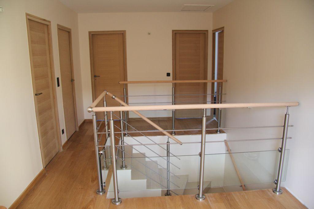 Escalier presque terminé