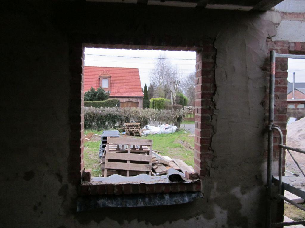 placage des murs intérieurs