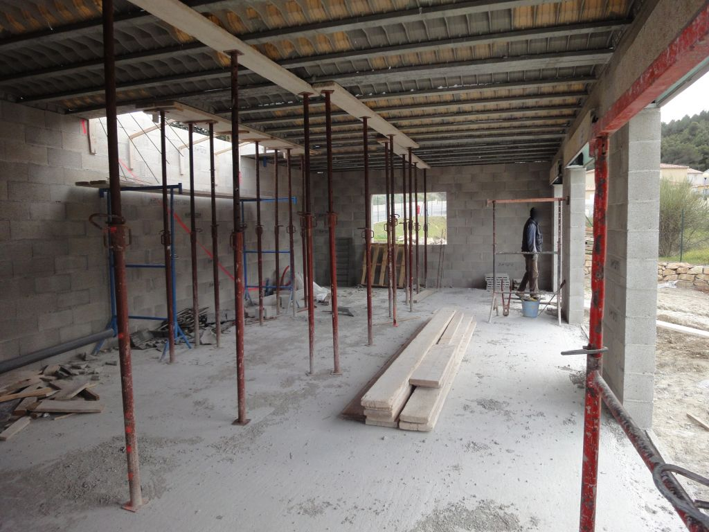 Etayage plancher