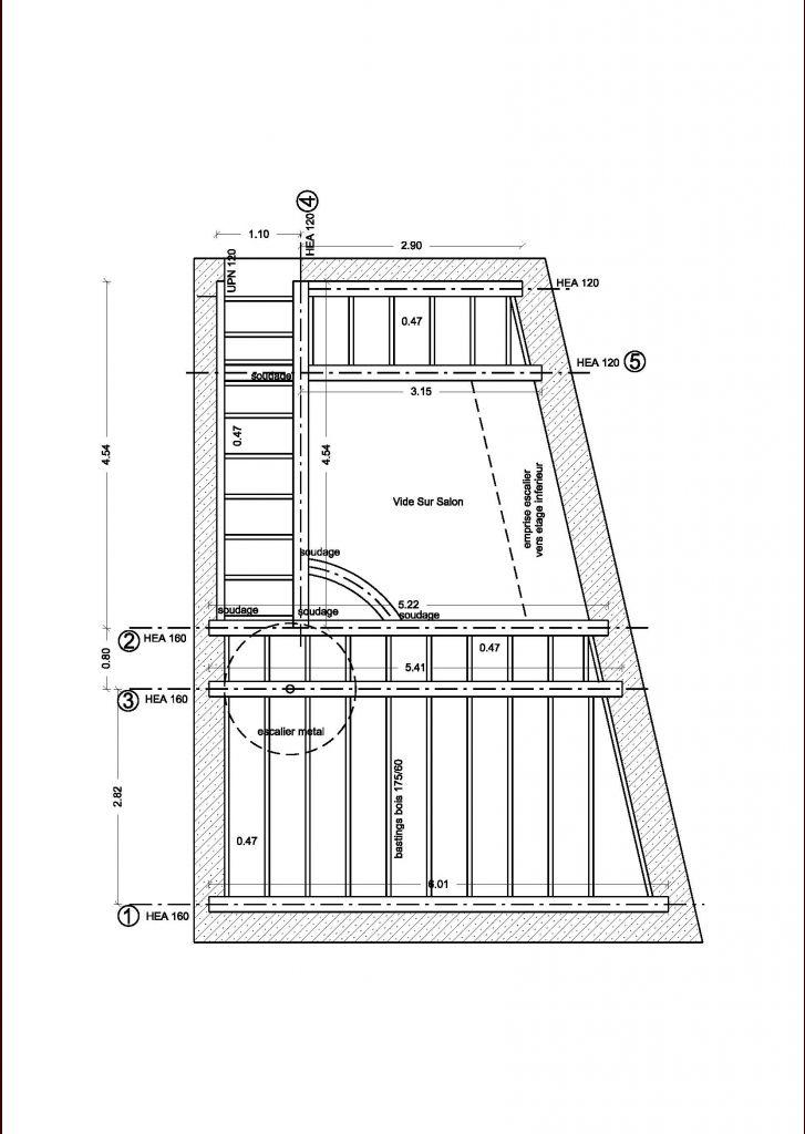 structure plancher hea et bois. Black Bedroom Furniture Sets. Home Design Ideas