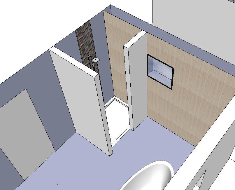 Salle de bain besoin de vos avis cote d 39 or - Carreler mur salle de bain ...