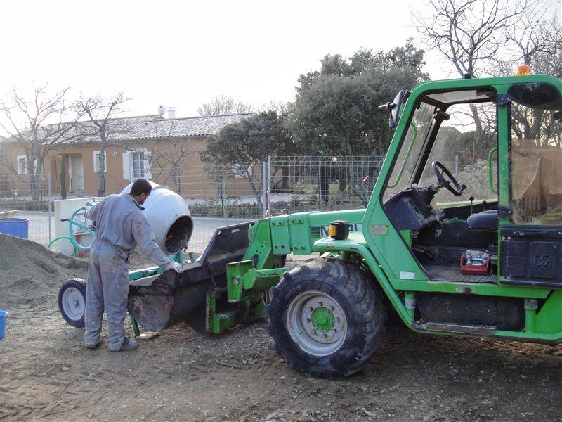 Préparation du béton