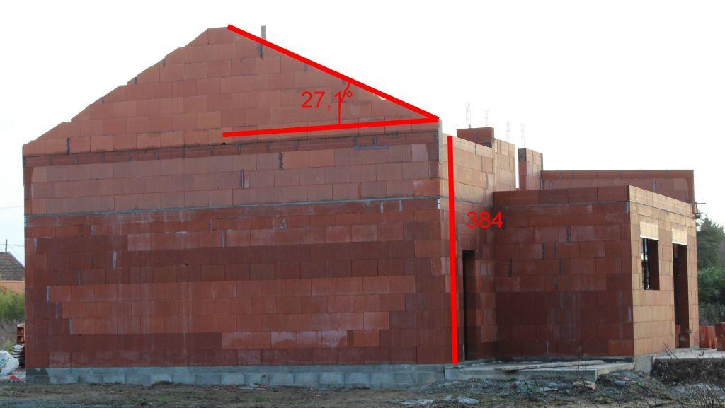 Question technique sur la hauteur des murs et l 39 arase - Hauteur d une maison ...