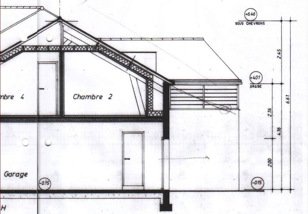 Question technique sur la hauteur des murs et l 39 arase - Hauteur plafond maison ...