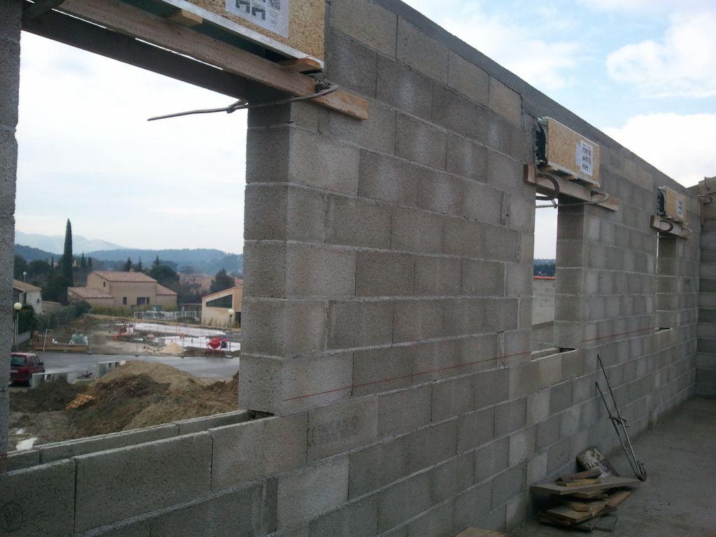 fin étage - mur SW