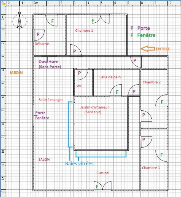 Plans de notre maison plein pied