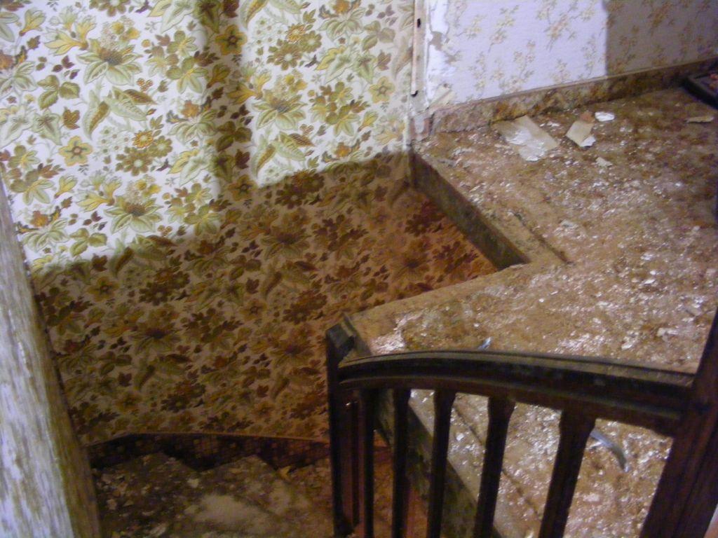 abatage de cloison de l'étage