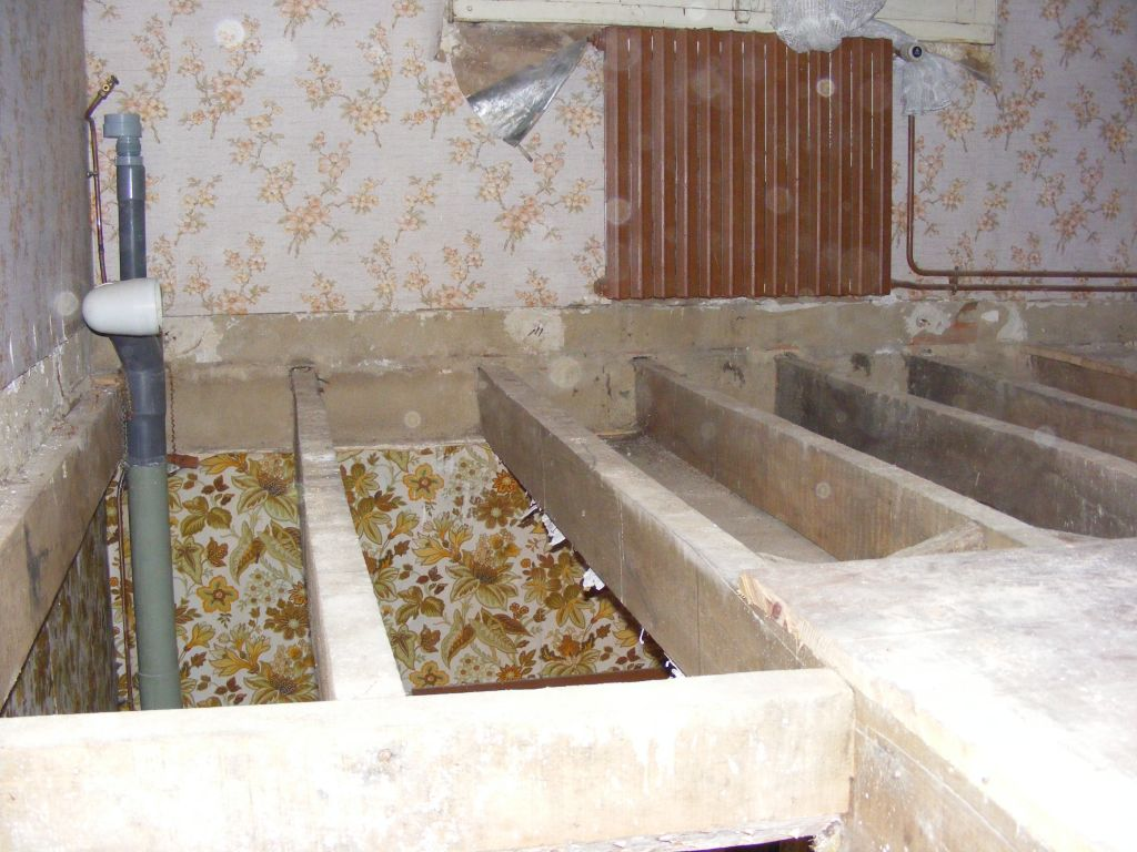 futur emplacement salle de bain