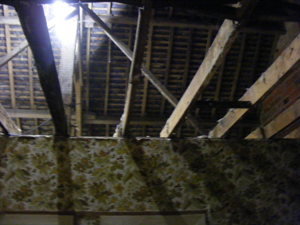 plafond de l'étage demonter