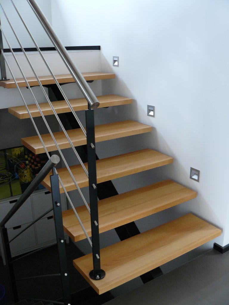 Escalier droit - Bas Rhin (67) - février 2012