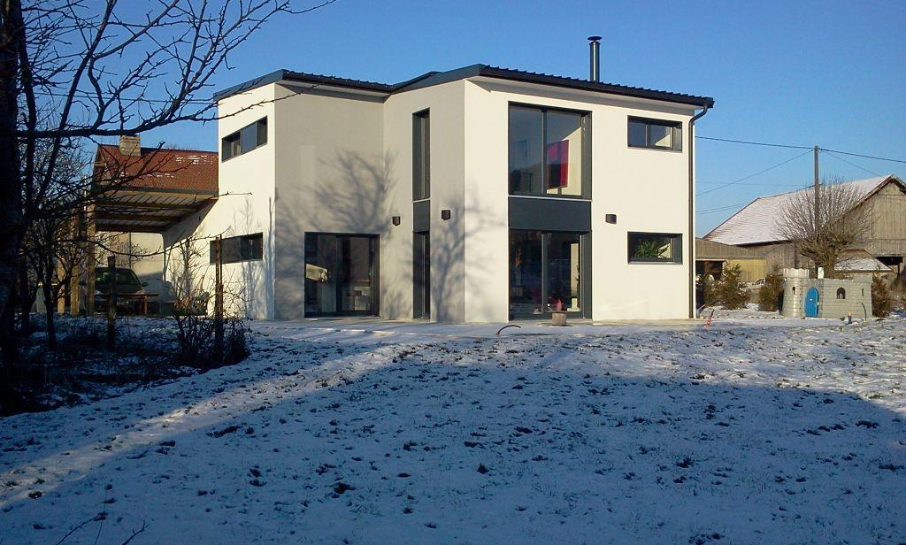 Facade sud-ouest - Doubs (25) - février 2012