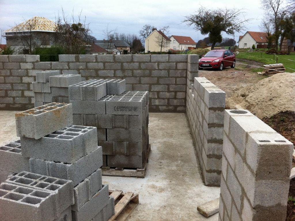 murs du rez de chaussée