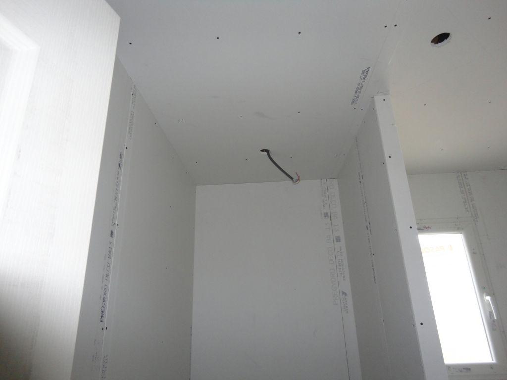 Vue de la douche (SdB).