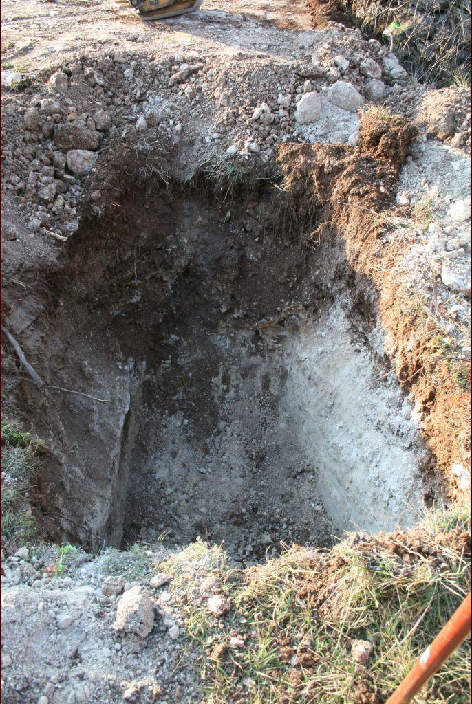 Le trou le plus profond 1.9m