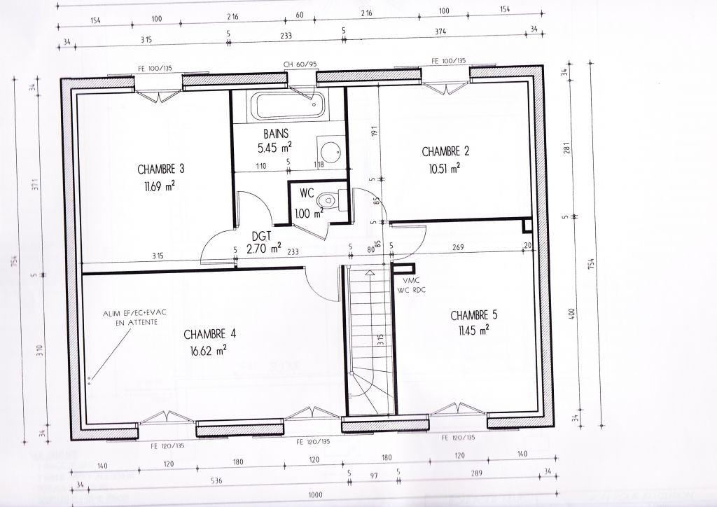 votre avis sur plans maison de 120m2 36 messages. Black Bedroom Furniture Sets. Home Design Ideas