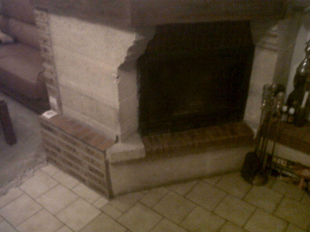 cheminée de face