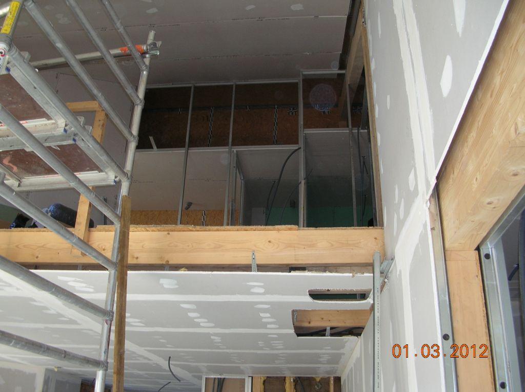 Plafond SAM et mezzanine