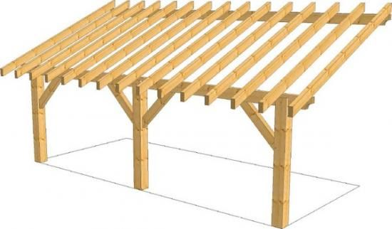 Construction d'un appenti 34 messages # Comment Construire Un Garage En Bois