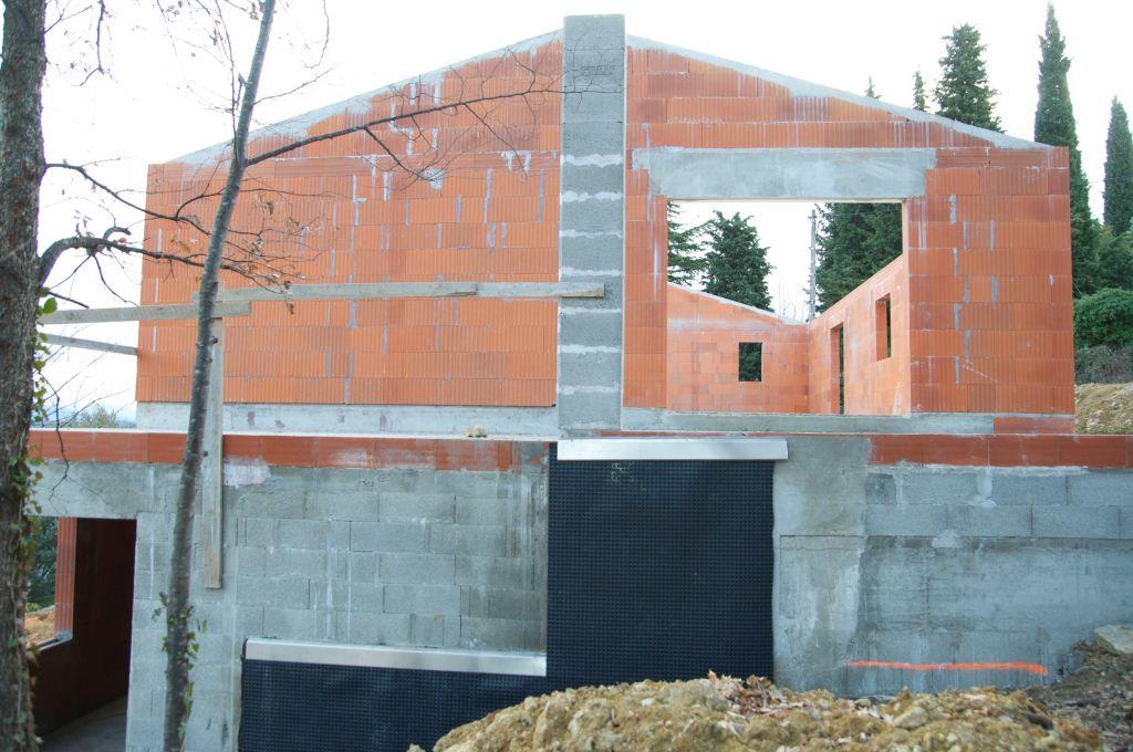 photo l 39 tanch it sous sol habitable el vation des murs tage alpes maritimes 6. Black Bedroom Furniture Sets. Home Design Ideas
