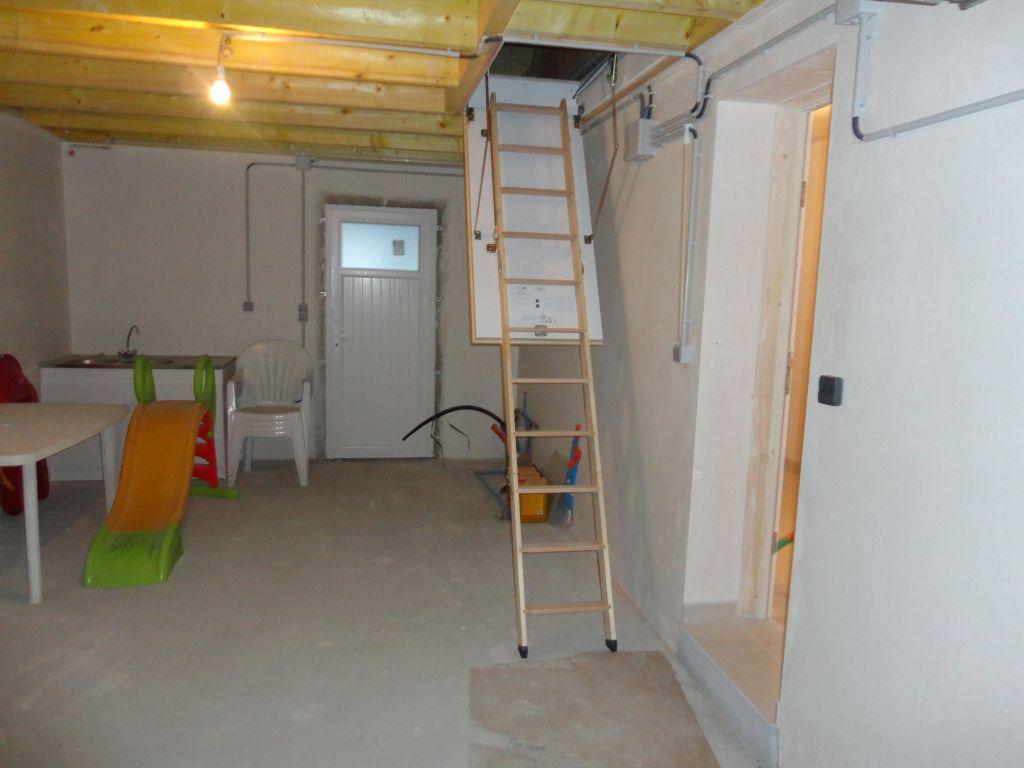 escalier pour grenier au dessus du garage