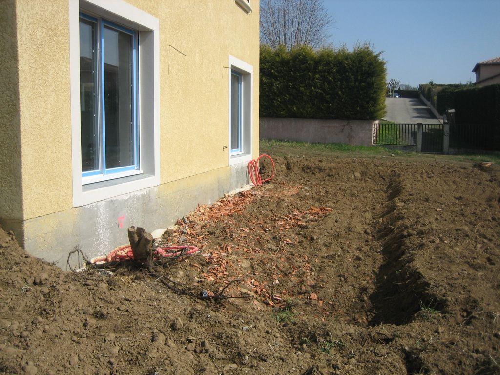 Terrasse sur remblai 15 messages - Comment faire du beton ...