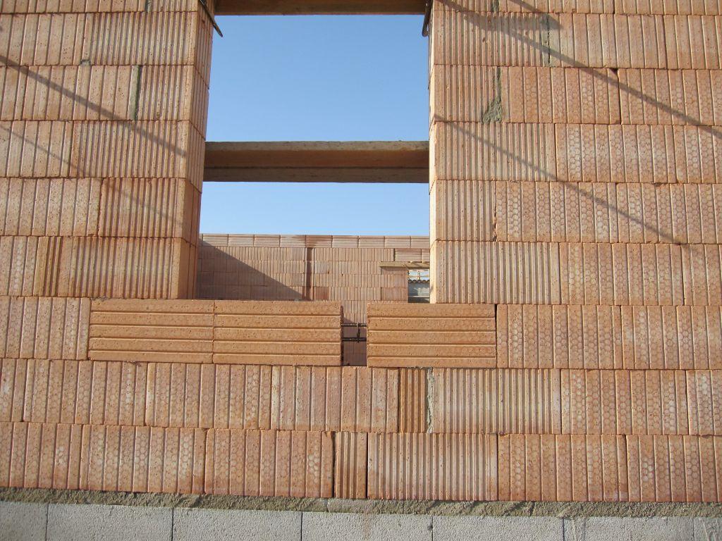 R gles de l 39 art construction en briques alv ol es 18 for Construire mur en brique