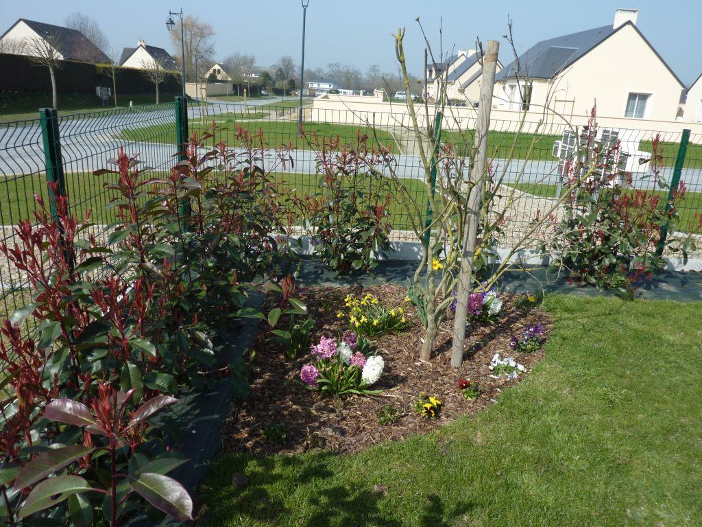 Au jardin terrasse bayeux calvados for Prix entretien jardin